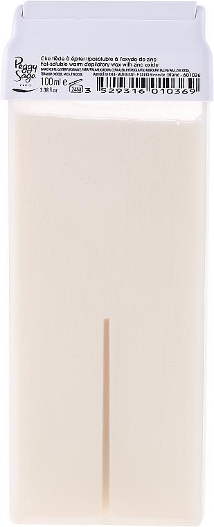 Warm Depilatory Wax Cartridge - Peggy Sage Cartridge Of Fat-Soluble Warm Depilatory Wax Blanc