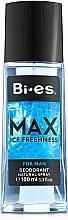 Fragrances, Perfumes, Cosmetics Bi-Es Max - Perfumed Deodorant Spray