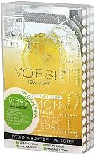 "Fragrances, Perfumes, Cosmetics Pedicure Set ""Lemon"" - Voesh Pedi In A Box Deluxe Pedicure Lemon Quench"
