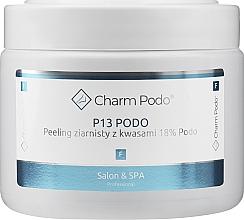 Fragrances, Perfumes, Cosmetics Granular Foot Peeling with Acids 18% - Charmine Rose Charm Podo P13