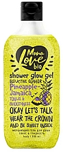Fragrances, Perfumes, Cosmetics Tonus & Smoothness Shower Gel - MonoLove Bio Pineapple-Jamaica Tonus&Smoothness