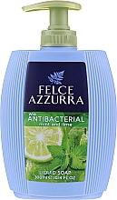 Fragrances, Perfumes, Cosmetics Liquid Soap - Felce Azzurra Antibacterico Mint & Lime
