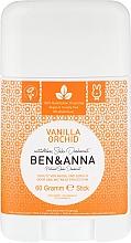"""Fragrances, Perfumes, Cosmetics Deodorant """"Vanilla and Orchid"""" (plastic) - Ben & Anna Natural Soda Deodorant Vanilla Orchid"""