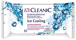 Fragrances, Perfumes, Cosmetics Refreshing Wipes, 15 pcs - Cleanic Ice Cooling Wipes