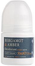 Fragrances, Perfumes, Cosmetics Bath House Bergamot & Amber - Deodorant