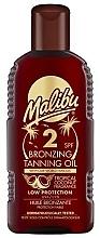 Fragrances, Perfumes, Cosmetics Bronzing Tanning Body Oil - Malibu Bronzing Tanning Oil SPF 2