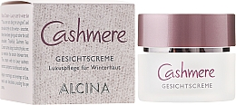 Fragrances, Perfumes, Cosmetics Protective Face Cream - Alcina Cashmere Face Cream