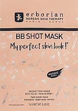 Fragrances, Perfumes, Cosmetics Face Sheet Mask - Erborian BB Shot Mask