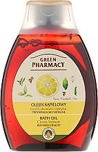 "Fragrances, Perfumes, Cosmetics Bath & Shower Oil ""Carnation & Lemon"" - Green Pharmacy"