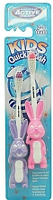 Fragrances, Perfumes, Cosmetics Kids Toothbrush, 3-6 years, purple + pink - Beauty Formulas Active Oral Care