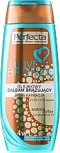 Fragrances, Perfumes, Cosmetics Body Bronzing Balm, light - Perfecta I Love Bronze Balm
