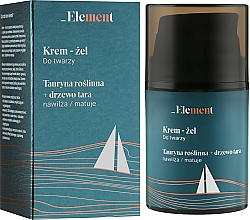 Fragrances, Perfumes, Cosmetics Facial Taurine & Tara Tree Cream-Gel - _Element Men Cream For Face