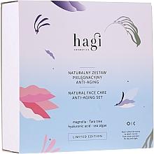 Fragrances, Perfumes, Cosmetics Set - Hagi Natural Face Care Anti-aging Set (cr/30ml + elixir/30ml)