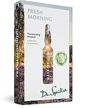 Fragrances, Perfumes, Cosmetics Fresh Morning Wake-Up Call Ampoule Concentrate - Dr. Spiller Wake-up Call Fresh Morning