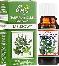 Fragrances, Perfumes, Cosmetics Natural Lemon Balm Essential Oil - Etja Natural Essential Oil