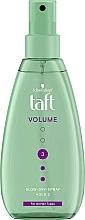 Fragrances, Perfumes, Cosmetics Volume Hair Styling Liquid - Schwarzkopf Taft Volumen Föhn-Spray
