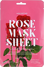 "Fragrances, Perfumes, Cosmetics Slice Face Mask ""Rose"" - Kocostar Slice Mask Sheet Rose"