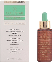Fragrances, Perfumes, Cosmetics Lifting Breast Concentrate - Collistar Attivi Puri Collagene + Acido Ialuronico