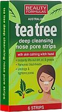 Fragrances, Perfumes, Cosmetics Cleansing Nose Pore Strips - Beauty Formulas Tea Tree Deep Cleansing Nose Pore Strips