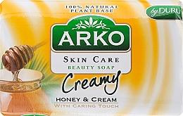 Fragrances, Perfumes, Cosmetics Soap - Arko Beauty Soap Creamy Honey & Cream