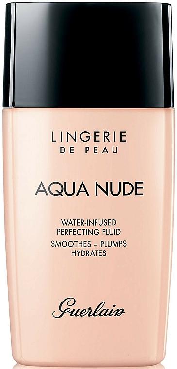Moisturizing Tinted Fluid - Guerlain Lingerie de Peau Aqua Nude