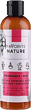 Fragrances, Perfumes, Cosmetics Macadamia Conditioner for Colored Hair - Favorite Nature Macadamia & Algae