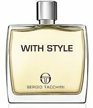 Fragrances, Perfumes, Cosmetics Sergio Tacchini With Style - After Shave Lotion