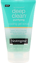 Fragrances, Perfumes, Cosmetics Facial Gel Scrub - Neutrogena Skin Detox Cooling Gel Scrub