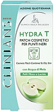 Fragrances, Perfumes, Cosmetics Face Cleansing Patches  - Clinians Hydra T Pach C Punti Neri Clinians