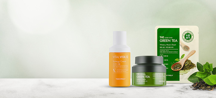 Buy Tony Moly products for the amount of £18 or more and get a free Face Mask