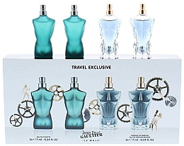 Fragrances, Perfumes, Cosmetics Jean Paul Gaultier Le Male - Set (edt/7ml + edt/7ml + edp/7ml + edp/7ml)