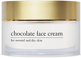 Fragrances, Perfumes, Cosmetics Energizing Chocolate Face Cream with Cocoa Extract - Yellow Rose Chocolate Face Cream