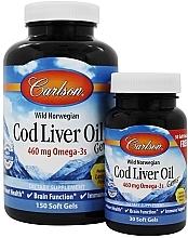 Fragrances, Perfumes, Cosmetics Set - Carlson Labs Cod Liver Oil Gems 460 mg
