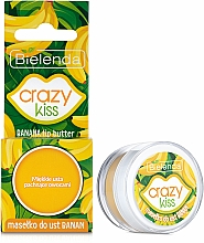 "Fragrances, Perfumes, Cosmetics Lip Butter ""Banana"" - Bielenda Crazy Kiss Banana Lip Butter"