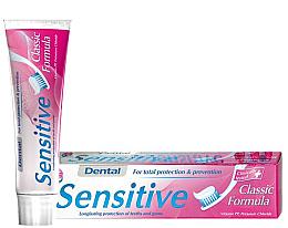Fragrances, Perfumes, Cosmetics Sensitive Toothpaste - Dental Sensitive Classic Formula