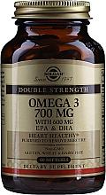"Fragrances, Perfumes, Cosmetics Dietary Supplement ""Omega-3"" 700 mg EPA & DHA - Solgar Double Strength Omega-3 700 mg EPA & DHA"