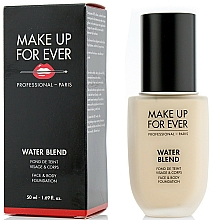 Fragrances, Perfumes, Cosmetics Foundation - Make Up For Ever Water Blend Foundation