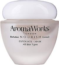 Fragrances, Perfumes, Cosmetics Exfoliating Face Mask - AromaWorks Nourish Face Exfoliate Mask