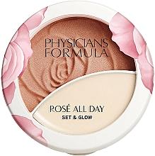 Fragrances, Perfumes, Cosmetics Balm Powder - Physicians Formula Rose All Day Set & Glow