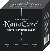 Fragrances, Perfumes, Cosmetics Whitening Tooth Powder - VitalCare White Pearl NanoCare Charcoal Teeth Powder