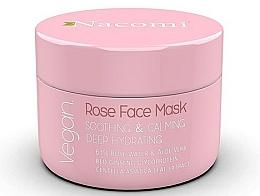 Fragrances, Perfumes, Cosmetics Soothing Rose Face Mask - Nacomi Rose Face Mask
