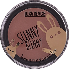 Fragrances, Perfumes, Cosmetics Bronzer Powder - Luxvisage Sunny Bunny Bronzing Powder