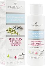 Fragrances, Perfumes, Cosmetics Herbal Eyelid Hygiene Fluid - Floslek Eyebright Eyelid Hygiene Liquid