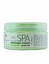 """Fragrances, Perfumes, Cosmetics Massage Cream """"Lemongrass & Green Tea"""" - BCL Spa Lemongrass Green Tea Massage Cream"""