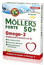 Fragrances, Perfumes, Cosmetics Omega-3 Dietary Supplement - Orkla Moller's Forte 50+