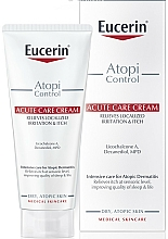 Fragrances, Perfumes, Cosmetics Soothing Cream for Atopic Skin - Eucerin AtopiControl Acute Care Cream