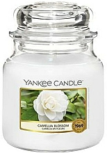 Fragrances, Perfumes, Cosmetics Scented Candle - Yankee Candle Camellia Blossom
