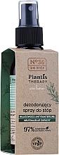 Fragrances, Perfumes, Cosmetics Foot Deodoratn Spray - Pharma CF No.36 Plantis Therapy Foot Spray