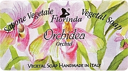 "Fragrances, Perfumes, Cosmetics Natural Soap ""Orchid"" - Florinda Sapone Vegetale Vegetal Soap Orchid"