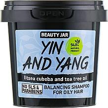 "Fragrances, Perfumes, Cosmetics Oily Hair Shampoo ""Yin and Yang"" - Beauty Jar Shampoo For Oily Hair"